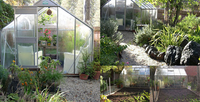 glasshouse collage